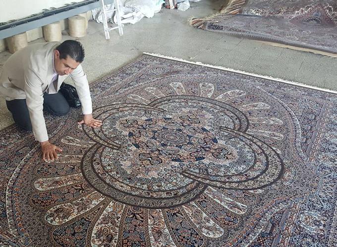 本場イランの工場で生産 100% Made in Iran